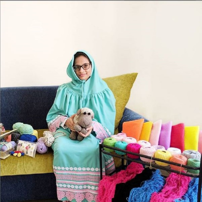 Meet Crochet Creator Arwa Haji Who Have Won Hearts With Her Unique And Customized Designs