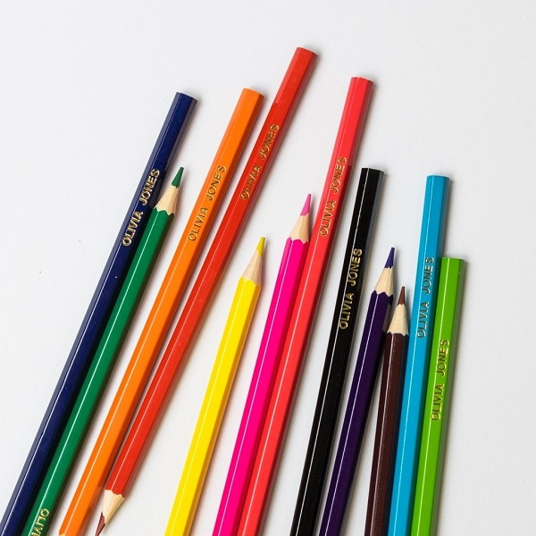 pencils in office stationery