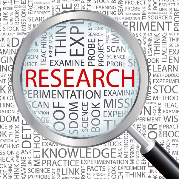 Your Research   Bulb And Key