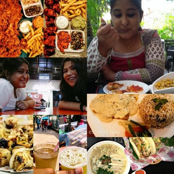  Ahana Mukhopadhyay & Sreeja Mitra (Food Blogging)