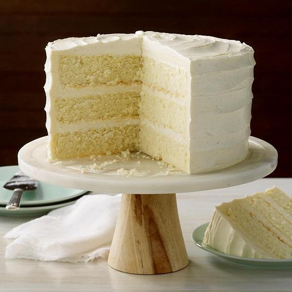 Prepare Vanilla Cake