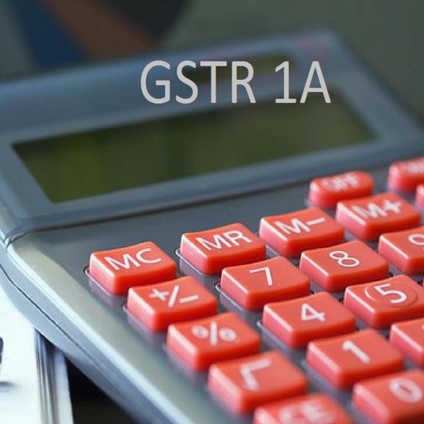 GSTR 1A | Bulb And Key