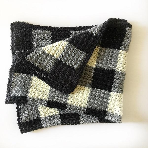 Griddle Crochet Stitch | Bulb And Key