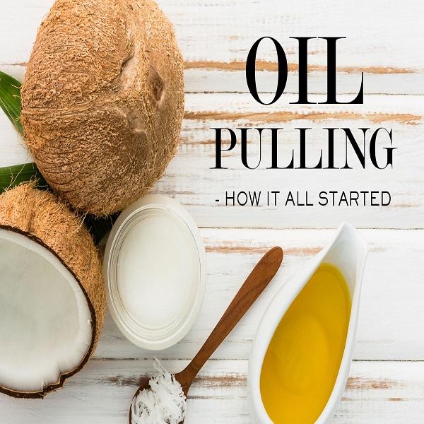 Try oil pulling