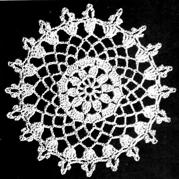 Openwork Crochet Stitch | Bulb And Key