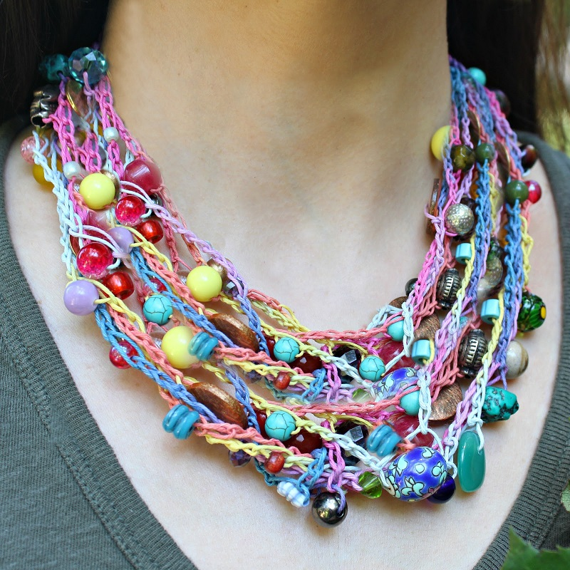 6 Different Types Of Crochet Necklace That Is Easy To Make