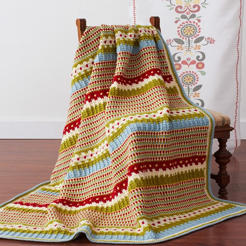 Crochet Afghan Patterns Feature | Bulb And Key