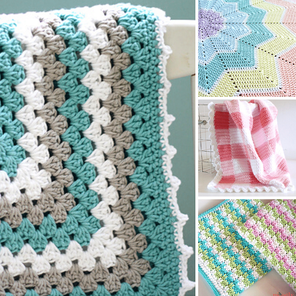 Crochet Baby Blanket Pattern | Bulb And Key