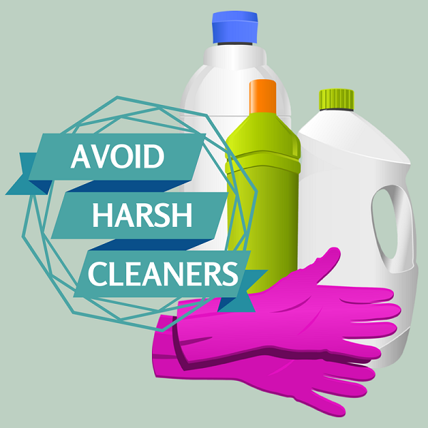 Harsh chemicals