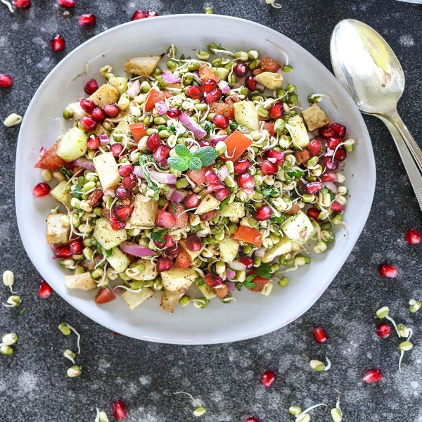 Healthy sprouts salad | Bulb And Key