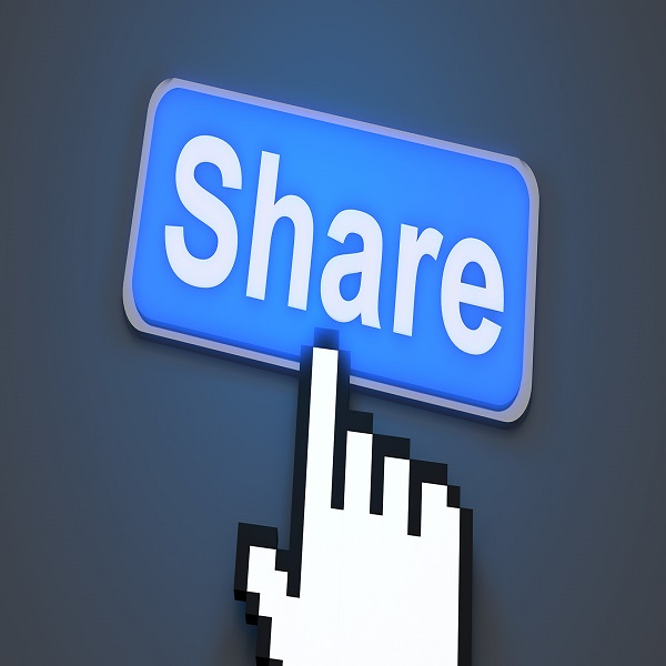 Share your content at different platforms | Bulb And Key