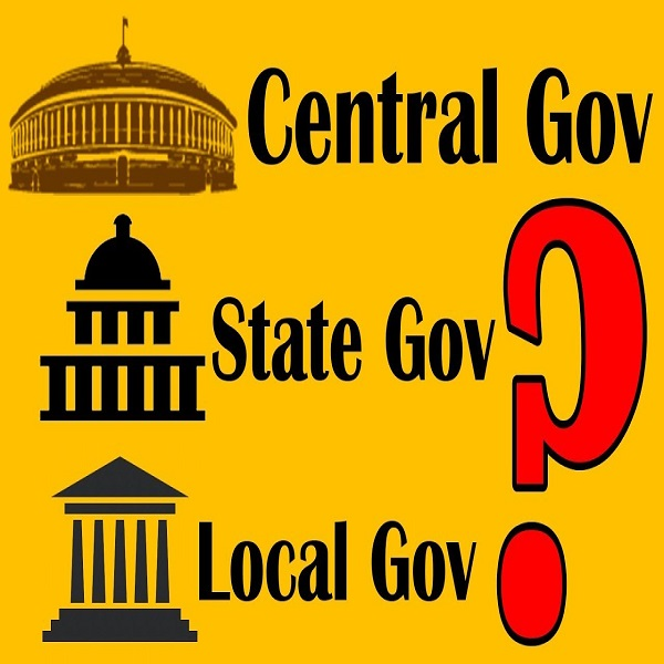 state and central government