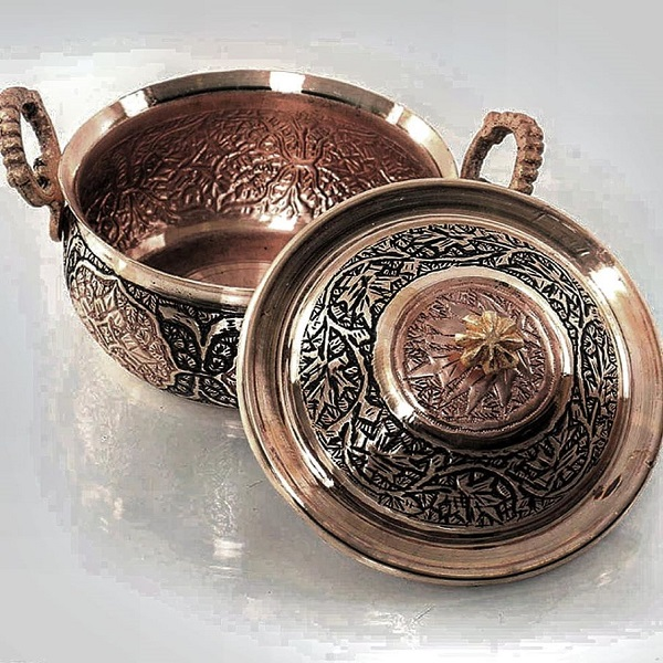 Copperware Art in Kashmir