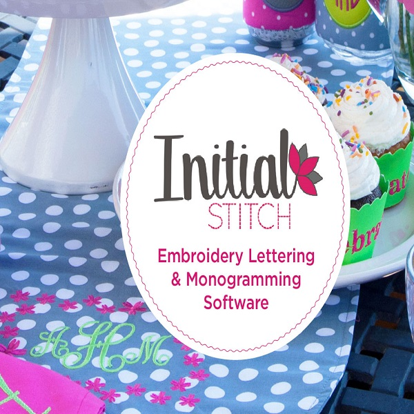 Brother Initial Stitch Embroidery Lettering and Monogramming Software | bulb and key