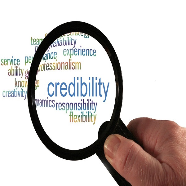 Credibility | bulb and key