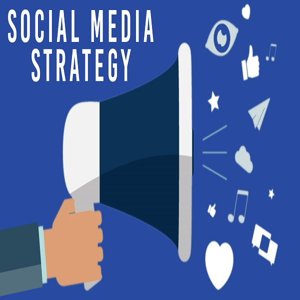 Develop a Social Media Strategy | bulb and key