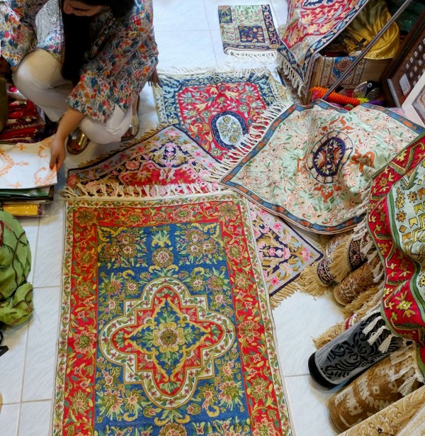 Carpet Weaving in Kashmir -