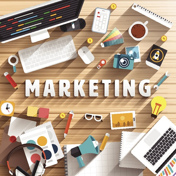 Marketing | bulb and key