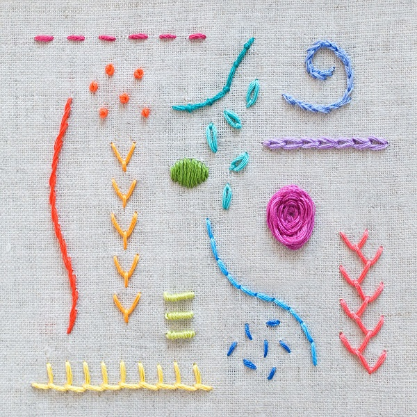 Types of Embroideries