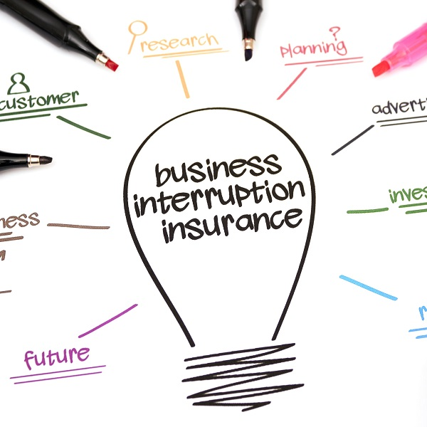 Business Interruption Insurance | bulb and key