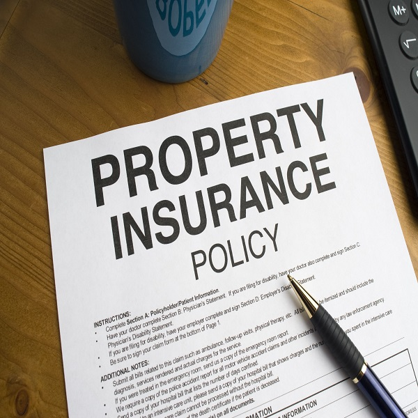 Commercial Property Insurance | bulb and key