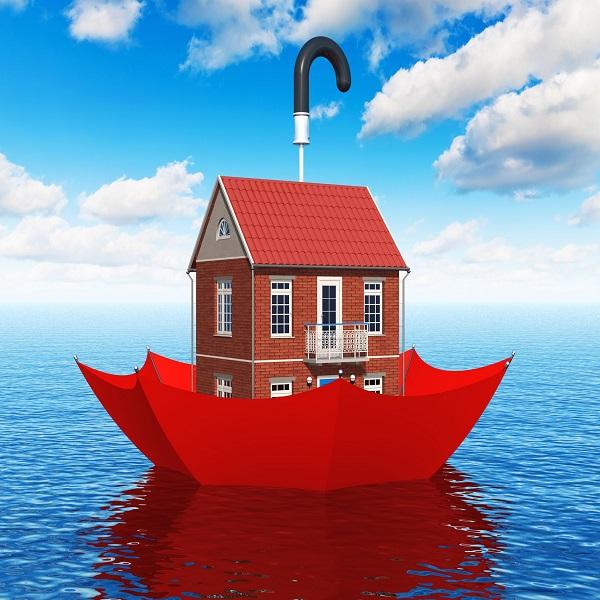 Flood Insurance | bulb and key