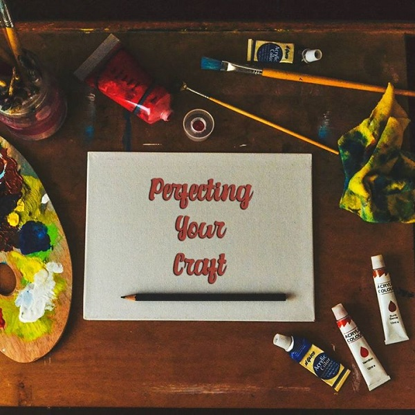 PERFECTING YOUR CRAFT | bulb and key