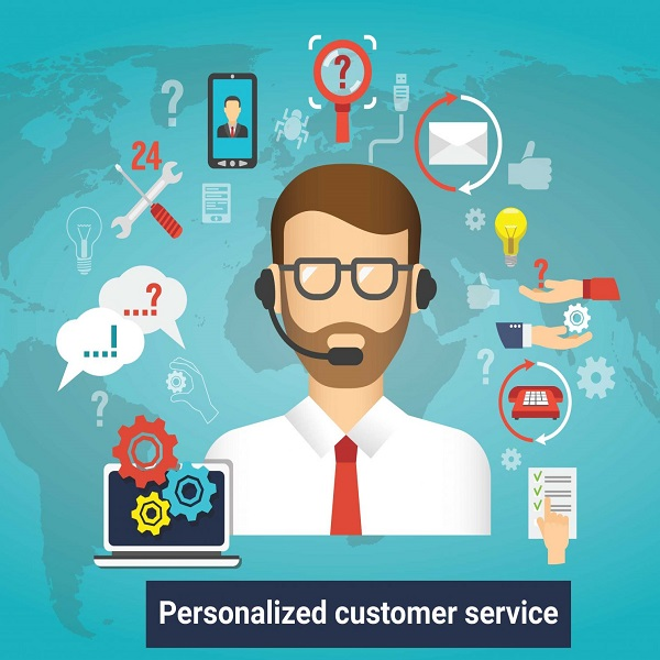 Personalized Customer Service and Marketing | bulb and key