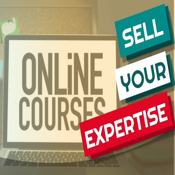 Sell your expertise online | bulb and key