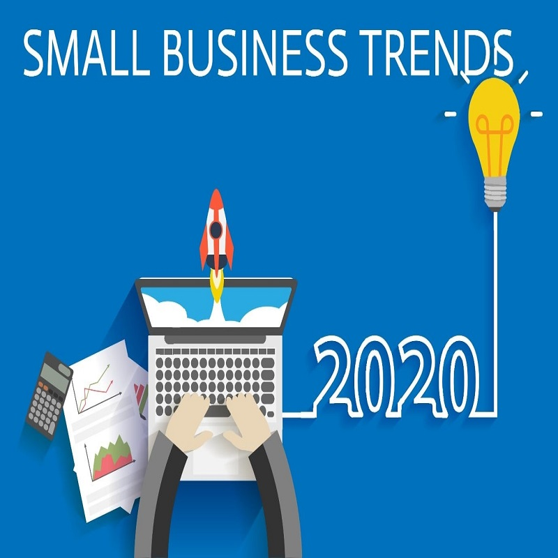 Small Business Trends | bulb and key