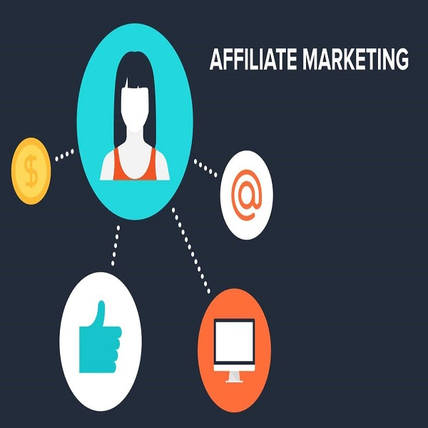 Start an affiliate marketing business online | bulb and key