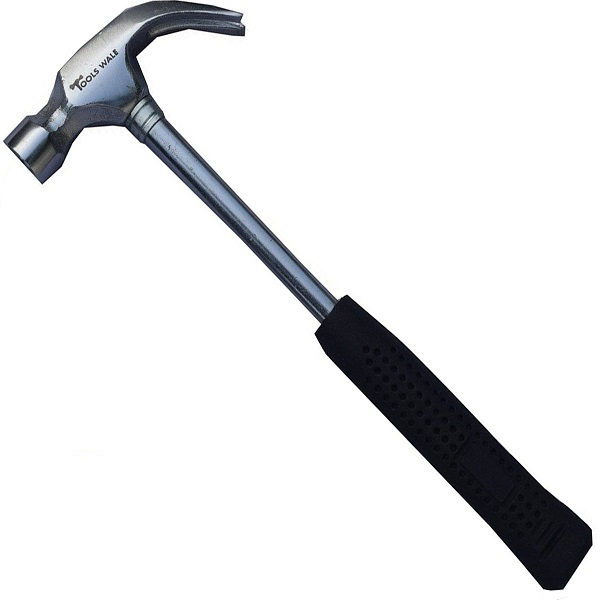 The claw hammer | bulb and key