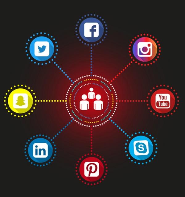 1) SOCIAL MEDIA MANAGEMENT