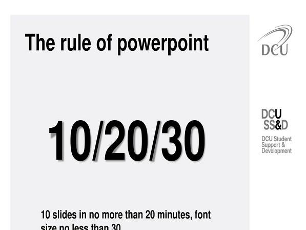 10-20-30 rule