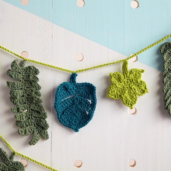 Crochet Garland.