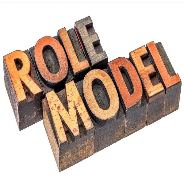role model  | bulb and key