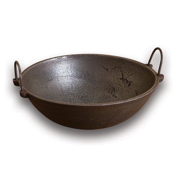 iron vessel for cooking