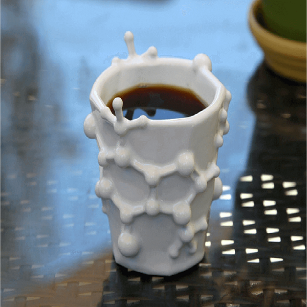 3D printed coffee mugs