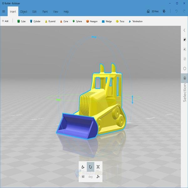 Microsoft 3D builder: