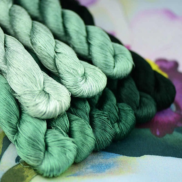 Pure Silk Embroidery Threads