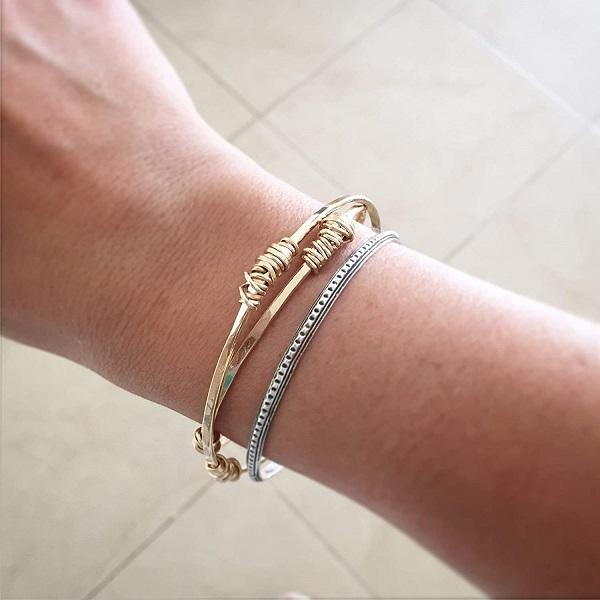 3) Bangles and bracelets