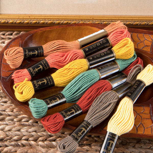 Wool embroidery floss