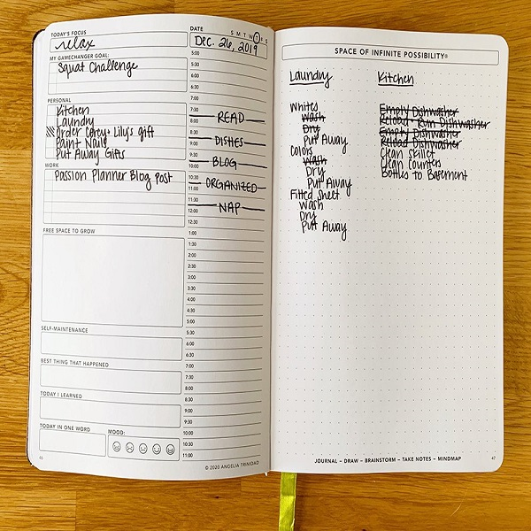 Daily Passion planner