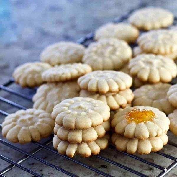 Pressed cookies :