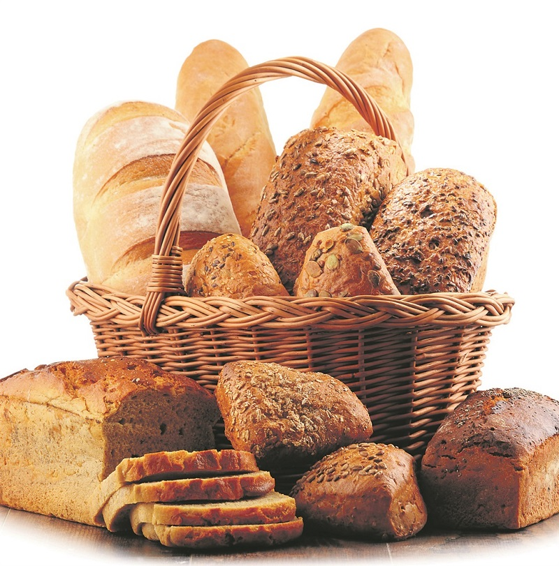 Different Types of Bread in Bakery