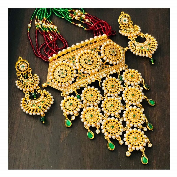 Rajasthani Necklace Set