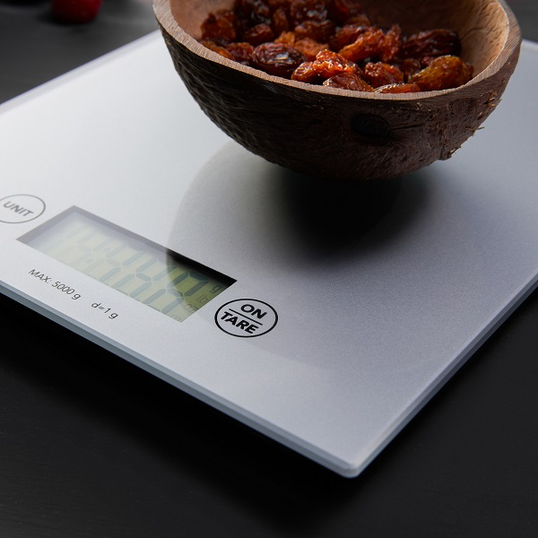 food scale.