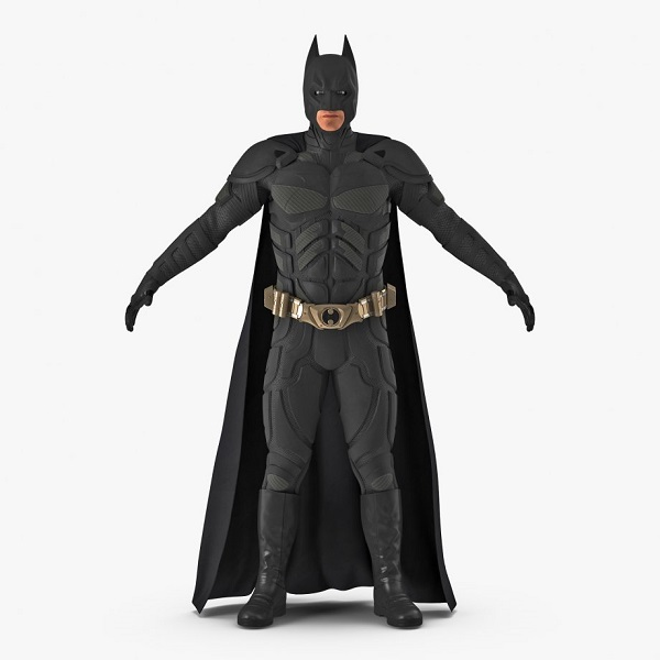 Batman 3D Model | Bulb and Key