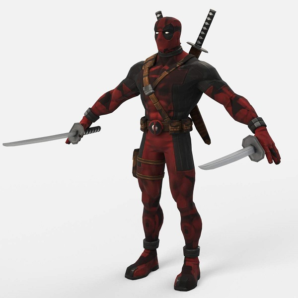 Deadpool 3D Model | Bulbandkey