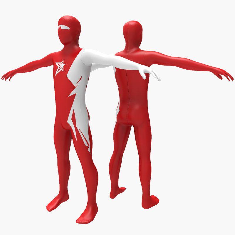 3D Printed Favourite Superhero Models